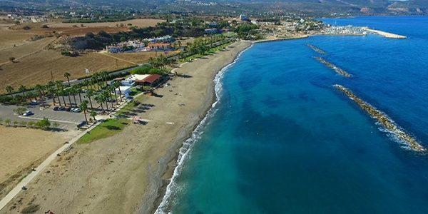 Παραλία Δημοτικής Πλαζ (μπροστά από εστιατόριο)